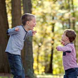 Come at me bro by Tony Bendele - Babies & Children Children Candids ( child, children, people, portrait )