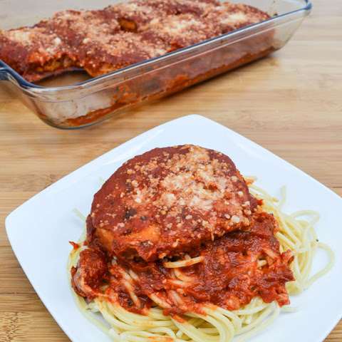 Chicken Patty Parmesan