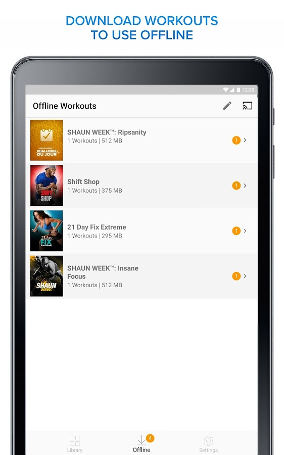 Beachbody On Demand The Best Fitness Workouts Screenshot