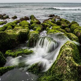 Laomei  by Pierre Tessier - Landscapes Waterscapes ( taiwan, wave, slow shutter, laomei,  )