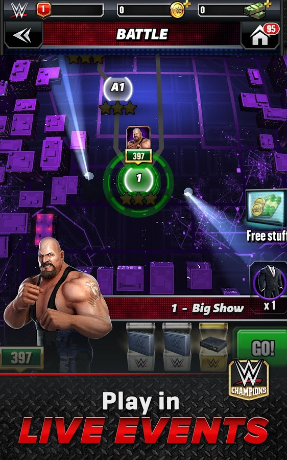 WWE Champions Free Puzzle RPG Screenshot 13