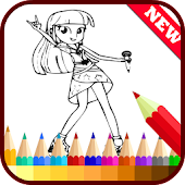 Drawing app for Equestria Girl
