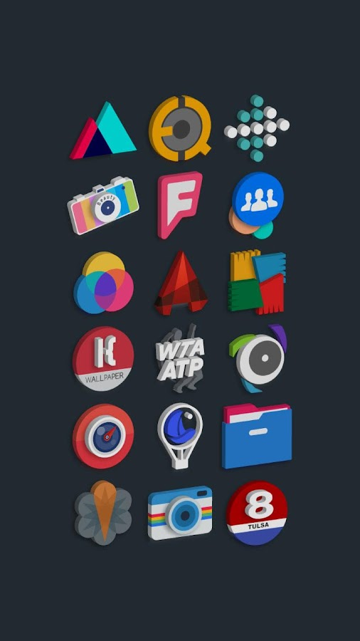 Tigad Pro Icon Pack Screenshot 8