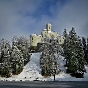 Trakošćan by Dunja Kolar - Buildings & Architecture Public & Historical ( croatia, trakošćan )
