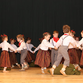 Dances I by Atis Kalniņš - Babies & Children Toddlers ( dancing childs, dancing kids, national dancies, latvia, latvian dances )