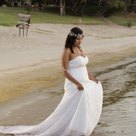 Distance by Lodewyk W Goosen-Photography - Wedding Bride ( wedding photography, wedding photographers, wedding day, wedding, weddings, brides, wedding dress, wedding photographer, bride )