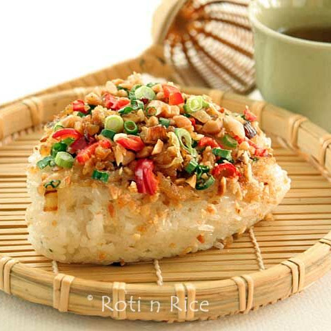 Savory Steamed Glutinous Rice