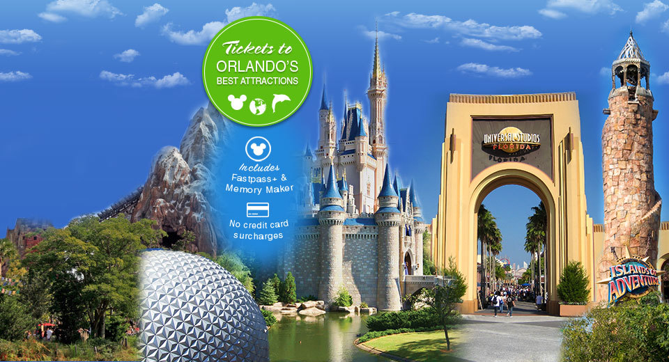 Tickets to Orlando's best attractions