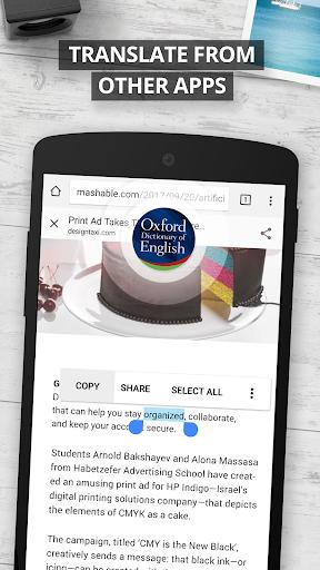 Oxford Dictionary of English : Free screenshot 4