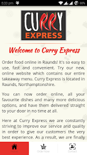 Curry Express - screenshot