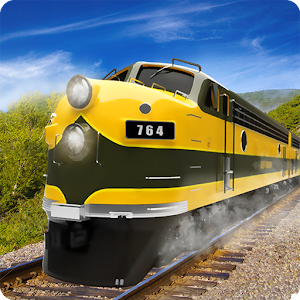 USA Train Driving Simulator 3D