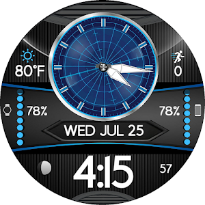 ALPHA 9 Watchface for WatchMaker (12h/24h) For PC / Windows 7/8/10 / Mac – Free Download