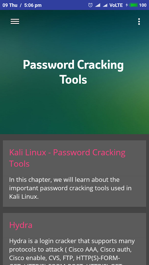Learn Kali Linux Screenshot 2