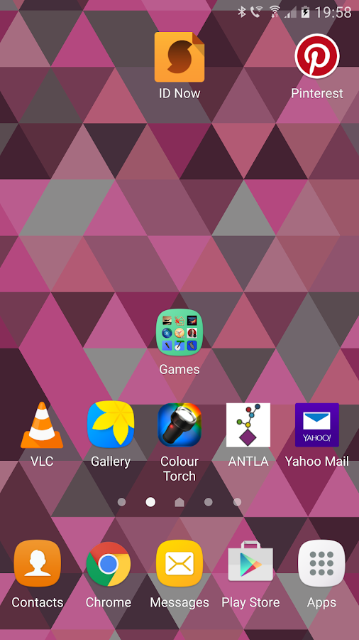 Triangles Live Wallpaper Screenshot 6