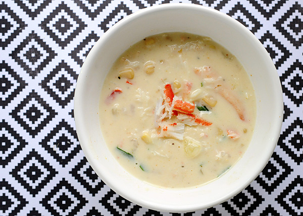Crab & Shrimp Corn Soup – Under 300 Calories Per Serving! Recipe | Yummly