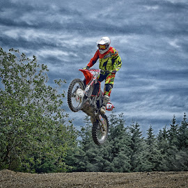 Great 12 ! by Marco Bertamé - Sports & Fitness Motorsports ( motocross, landing, speed, air, number, race, noise, jump, 12 )