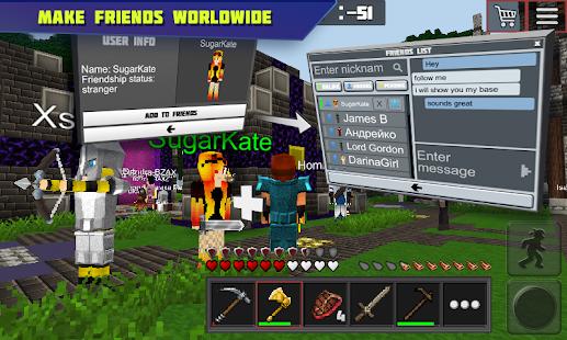 Planet of Cubes Survival Games APK for Bluestacks