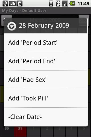 MyDays Pro - P&O - screenshot