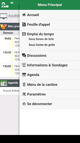 Pronote - Espace Profs - LN Android App Screenshot