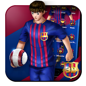 3D Barcelona Football Shooter Theme For PC