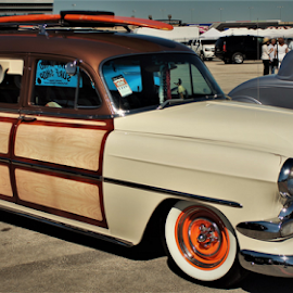 Family go getter by Benito Flores Jr - Transportation Automobiles ( classic, wagon, texas, car show )