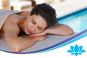 Relax with a massage in your villa