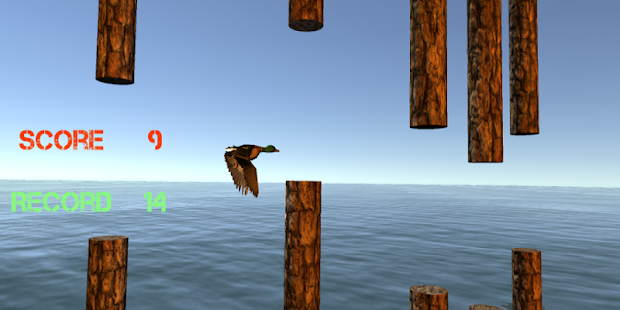 Flappy Duck Challenge Real 3D - screenshot