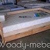 Детская мебель: кровать Нота