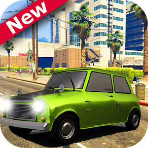 Mr-bean hill climb racing