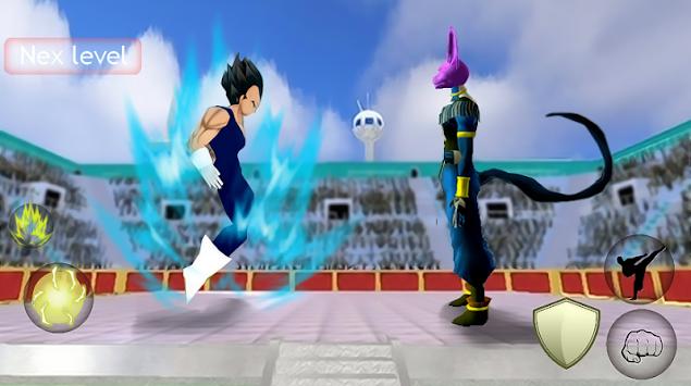 Vegeta Super Saiyan 3D apk screenshot