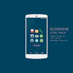 Sunshine - Icon Pack Screenshot