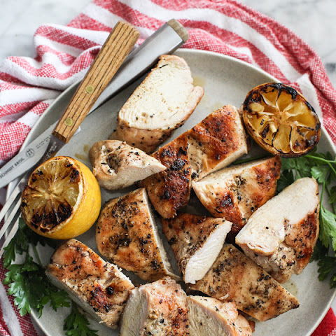 The Best Grilled Chicken Breast