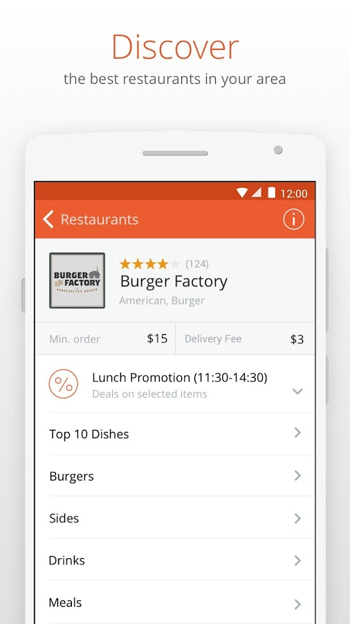 foodpanda - Food Delivery Screenshot 1