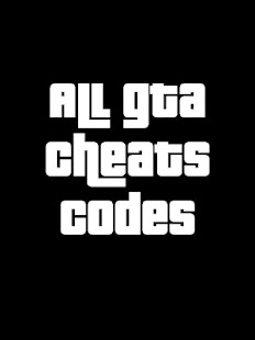 Cheats : all GTA Games (2016) - screenshot