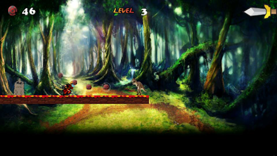 Super Gum ball Ninja Fast Run - screenshot