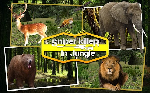 Sniper Killer in Jungle - screenshot