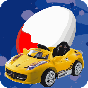 Surprise Eggs Car Game