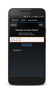 Greatest Common Factor! - screenshot