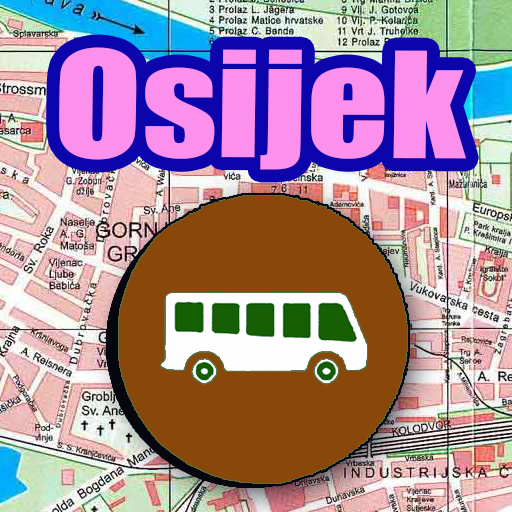 Android aplikacija Osijek Bus Map Offline na Android Srbija