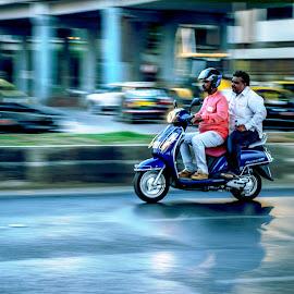 Frozen mobility  by Hariharan Venkatakrishnan - City,  Street & Park  Street Scenes