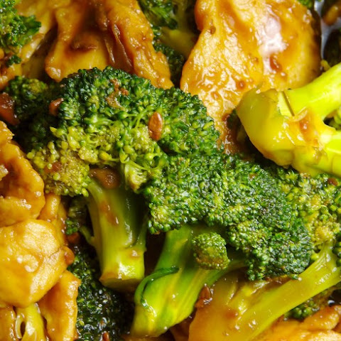Chinese Crystal Chicken With Broccoli