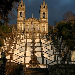 Bom Jesus do Monte by Blanka Bareza - Travel Locations Landmarks ( pwclandmarks )