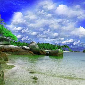 berhala Island by Ferdy Oi - Landscapes Travel