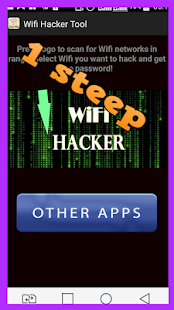Wifi Hacker password Prank - screenshot