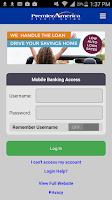 Screenshot of Premier America Credit Union
