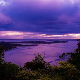 Sunset Lakes Entrance by Sarah Harding - Novices Only Landscapes ( sunset, outdoors, novices only, seascape, landscape )