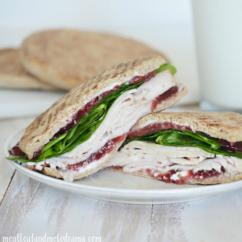 Turkey, Cranberry and Cream Cheese Sandwich