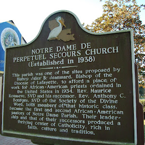 This parish was one of the sites proposed by Bishop Jules B. Jeanmard, Bishop of the Diocese of Lafayette, to afford a place of work for African-American priests ordained in the United States in ...