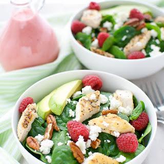 Raspberry Vinaigrette Salad Pecans Recipes
