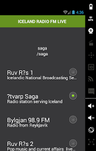 ICELAND RADIO FM LIVE - screenshot